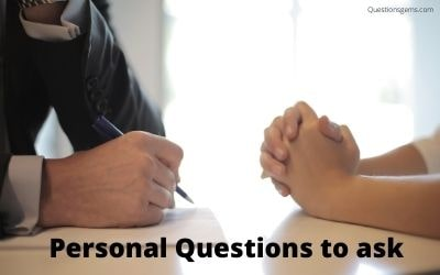 personal questions to ask