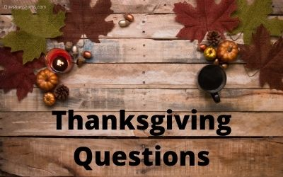 thanksgiving questions