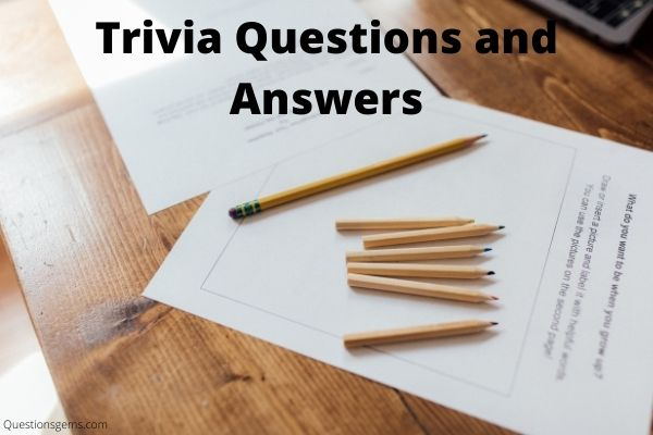 trivia questions answers