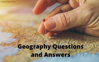 geography questions answers
