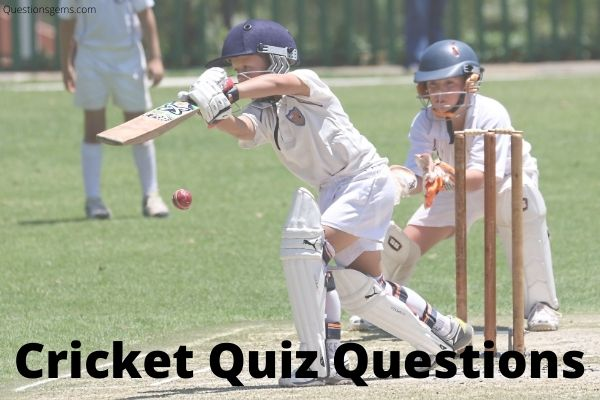 cricket quiz questions