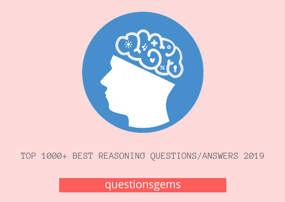 Best Reasoning questions/answers Hindi 2019