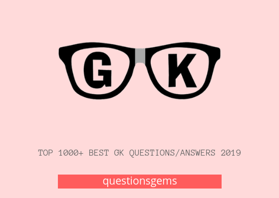 Best Gk questions/answers Hindi 2019