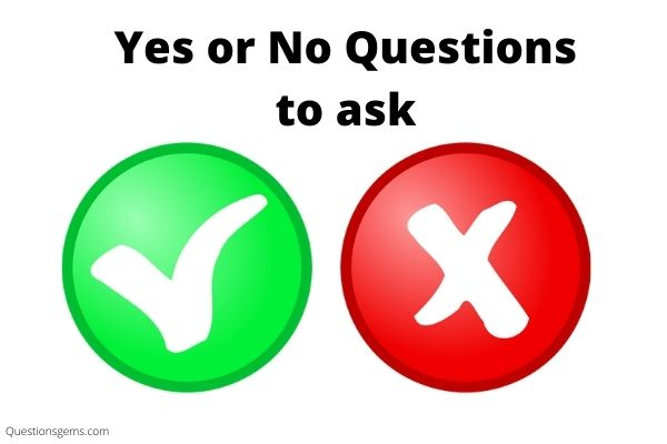yes or no questions