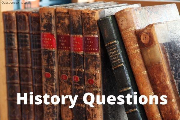 history questions