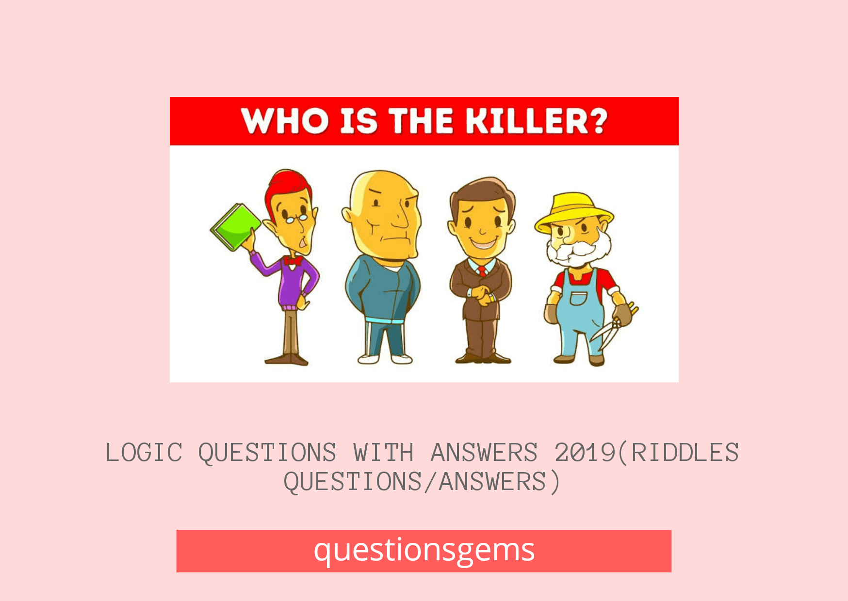 Logic Questions With Answers 2019