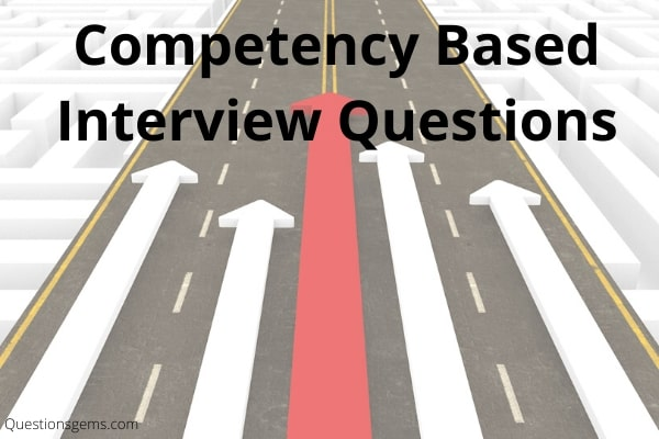 competency interview questions