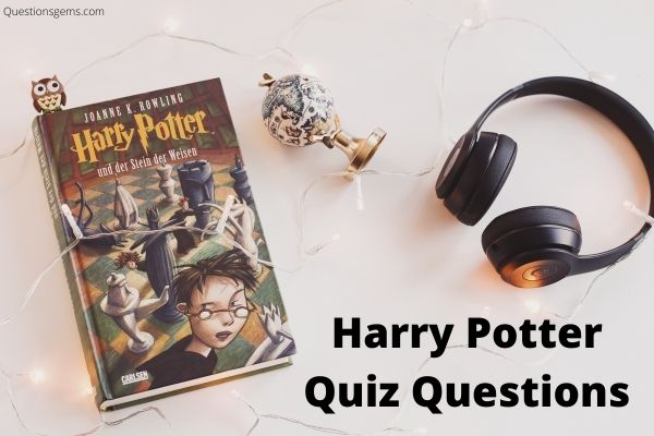 harry potter quiz questions