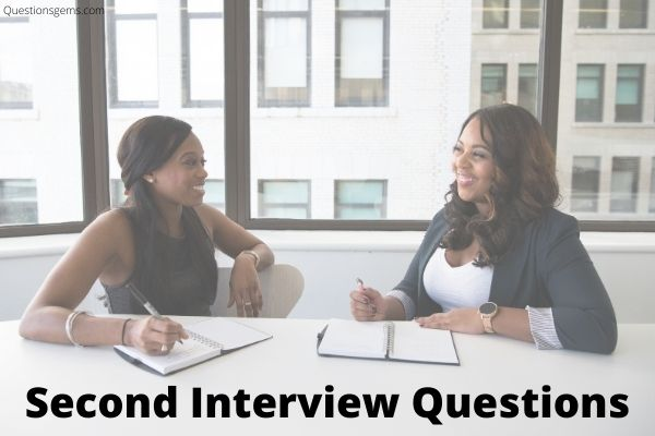 second interview questions