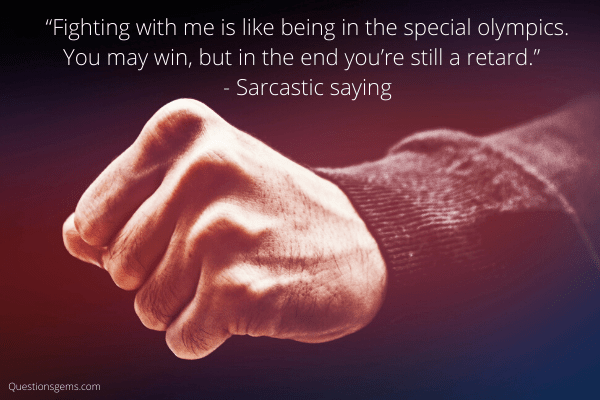 sarcastic sayings