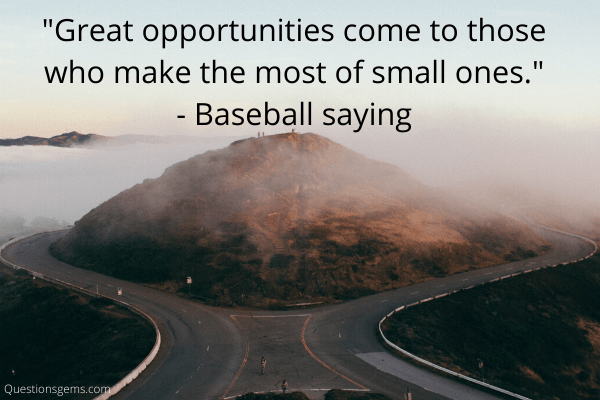 baseball sayings