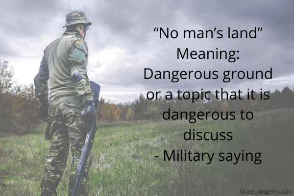 military sayings