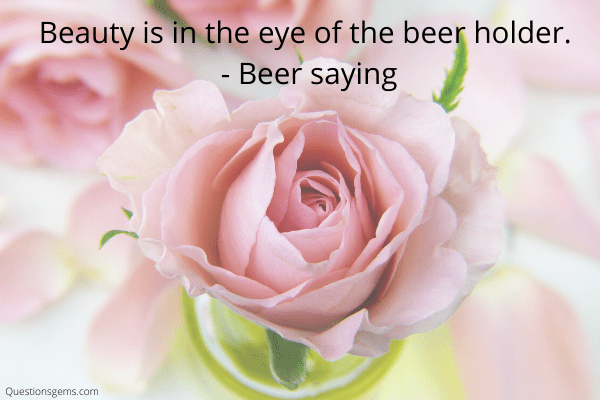 beer sayings