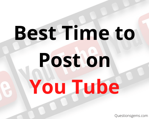 best time to post video on youtube