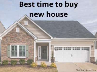 best time to buy house