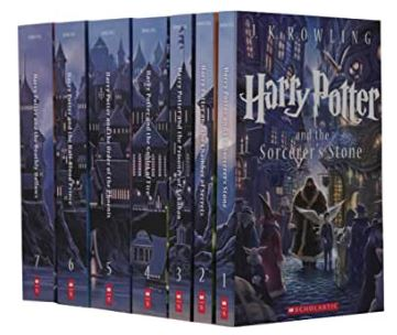 Harry Potter Books Gifts For Girls